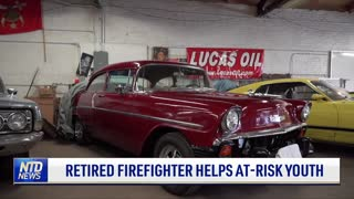 Retired Firefighter Helps At-Risk Youth