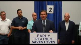 Florida Governor Ron DeSantis on Monoclonal Antibodies