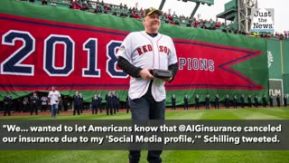 Former baseball star Schilling's insurance canceled after social posts supporting Capitol breach