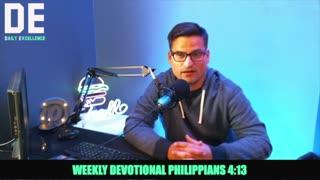 Philippians 4:13 Devo With Pastor Anthony