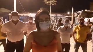 Protestas en las vías de Cartagena