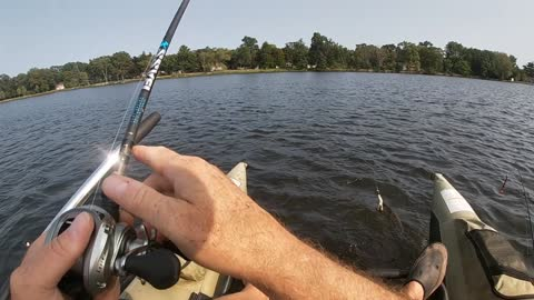 Fishing for northern pike