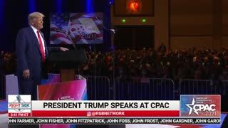 President Trump CPAC 2021 Speech