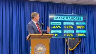 Gov. Chris Sununu Explains New Hampshire's Mask Mandate