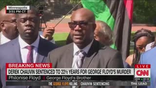 """George Floyd's Brother: """"All Lives Matter"""""""