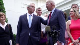 Biden backtracks on infrastructure threat
