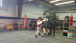 Sparring the Big guys