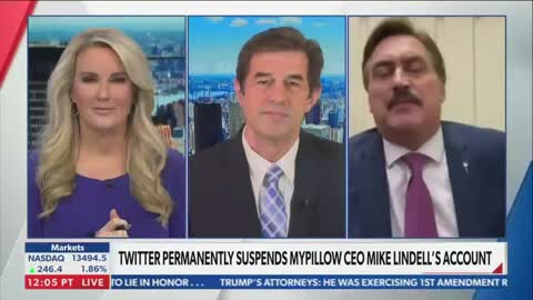 Newsmax host cuts off MyPillow guy Mike Lindell, anchor walks off set