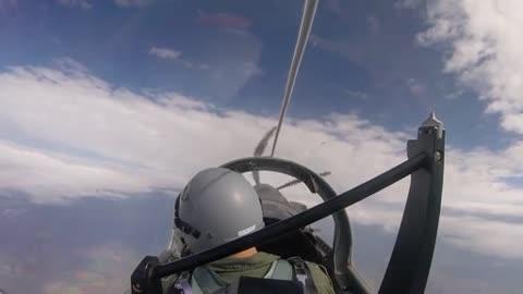 VANCE AIR FORCE BASE, OK, UNITED STATES - Cockpit Footage