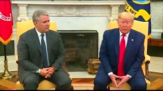 Presidente Duque se reunió con Trump