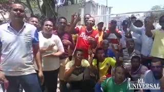Protestas en arenal bolívar