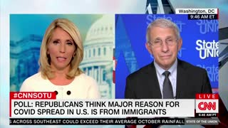 Fauci Says Immigrants Aren't Behind COVID surges