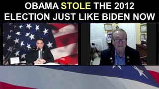 Obama STOLE The 2012 Election Just Like Biden Now!