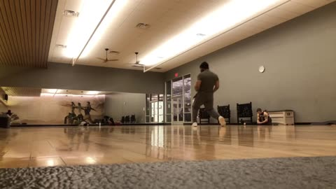 Who doesn't enjoy a nice floor to spin on