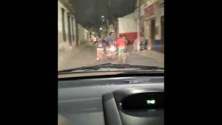 Vigilante ciudadano denuncia imprudencia de ciclistas y motociclista en Bucaramanga