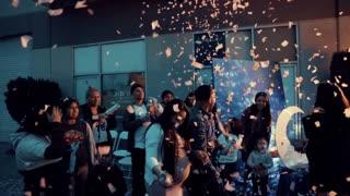 Highlight video captures family's gender reveal celebration