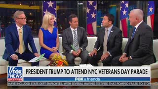 Trump to make history by attending NYC Veterans Day parade