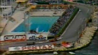 Great Drives: Michele Alboreto Monaco 1985