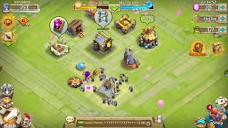 Castle Clash Batalha das Guildas IGG Android Gameplay 2020