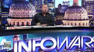 Alex Jones Takes Ivermectin Live On Air While Breathing Fire at 'Murdering Maggot' Fauci