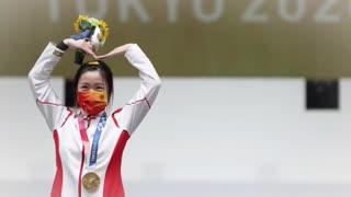 First Gold Medal Winner (Qian Yang) Tokyo Olympic 2021