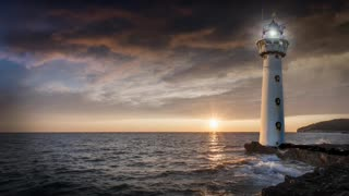 Relax Library: Video 6 Lighthouse. Relaxing videos and sounds