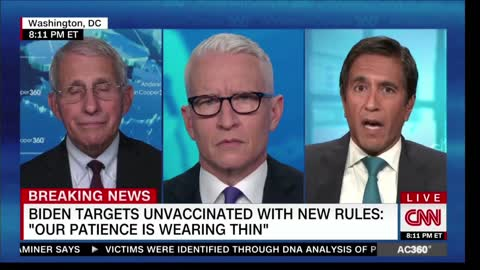 Fauci Admits That He Doesn't Have An Answer On Why Natural Immunity Fairs Better Than The Vaccines