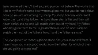 The Gospel of John - Chapter 10