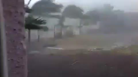 Footage shows devastating power of Hurricane Patricia