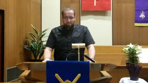 Sermon - Entering Jerusalem - March 28, 2021