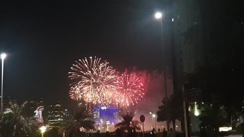 Happy New year abudhabi