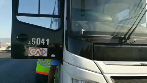 Golden Arrow bus driver struck by stray bullet in his ankle