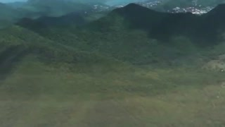 UFO caught from plane over Austria