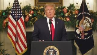President Donald Trump speech 31/12/20