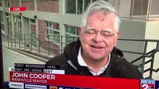 Democrat Nashville Mayor John Cooper Laughing Over RV Explosion