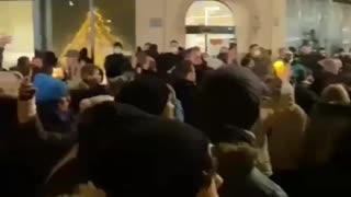 Los Alemanes protestan por el Lockdown