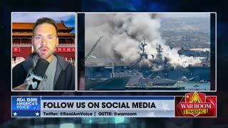 Navy Protecting Sailor Who Intentionally Burned Down $4 Billion US War Ship