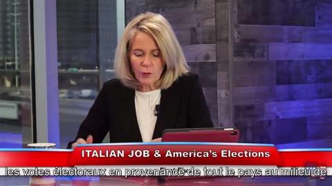 Les élections US piratées via une connexion satellite militaire en Italie.[VOSTFR]