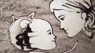 Artist Creates Beautiful Mother's Day Sand Art