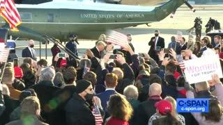2021-01-20 President Trump Departure Ceremony