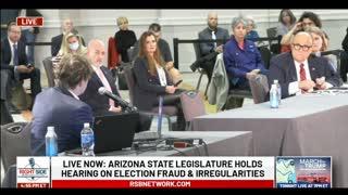 Bobby Piton's Testimony During Arizona Legislature Hearing on Election Fraud