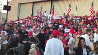 YMCA at President Trump's Rally in Macon, Georgia