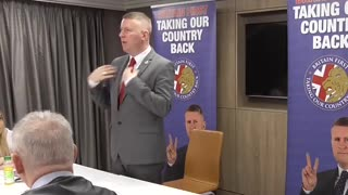 Paul Golding gives EPIC speech to midlands meeting