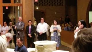 Tony Miller baptismal