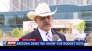 Ariz. Democrats 'no-show' for budget vote