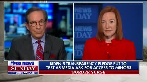 Psaki Has No Response When Confronted About Biden Refusing Media Access To Border