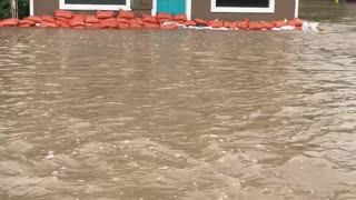 Flooding in Augusta Montana