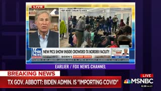 House Dem Says TX Governor Claiming Migrants Having COVID Could Spawn Violence