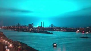 New York Transformer Explosion Turns Night Sky Blue