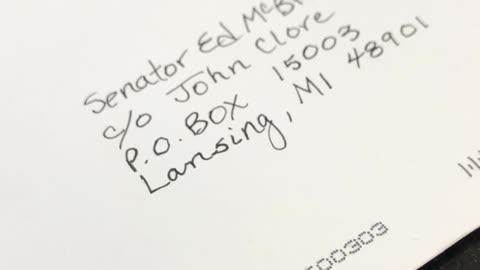 Ed McBroom Delivery